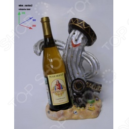 фото Подставка для вина Drivemotion «Кактус В Шляпе», Подставки для бутылок