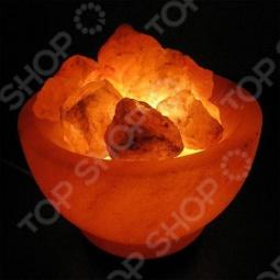 фото Лампа солевая Zenet Чаша С Кристаллами, Солевые лампы