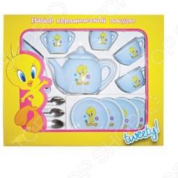 фото Набор посуды для детей Маруся Tweety 44534, Посуда для детей