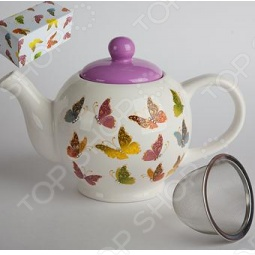 фото Чайник заварочный «Бабочки», Чайники заварочные