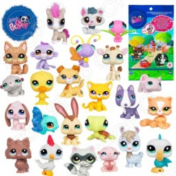 Набор игровой для девочек Littlest Pet Shop Зверюшки. В ассортименте