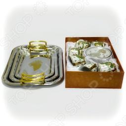 фото Чайный сервиз LORAINE и набор подносов MAYER BOCH, Чайные сервизы