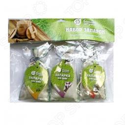 фото Набор запарок в сумочке Банные Штучки «Эвкалипт, Душица, Чабрец», Запарки для бани