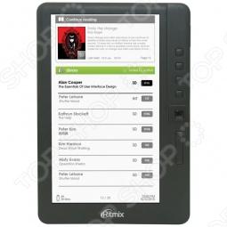 фото Книга электронная Ritmix Rbk-460, Электронные книги
