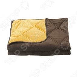 фото Одеяло декоративное Dormeo Trend Blanket. Размер: 140х200 см. Цвет: шоколадный, оранжевый, купить, цена