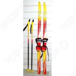 фото Комплект лыжный с палками Sorsu Snowstar. Система Крепления: Мягкие, купить, цена
