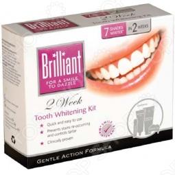 фото Отбеливающий комплекс Brilliant Полный Курс, Отбеливающие средства для зубов