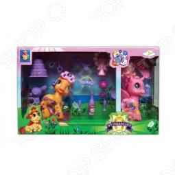 фото Набор из 2-х пони с аксессуарами 1 Toy Т56606, Игровые наборы для девочек