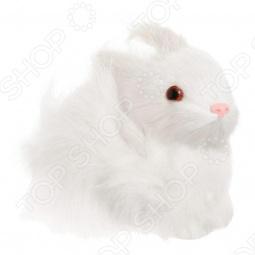 фото Сувенир из меха «Заяц сидящий» R1809k, Чучела животных. Сувениры из меха