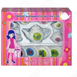 фото Набор посуды для детей Маруся Порхающее Настроение, Посуда для детей