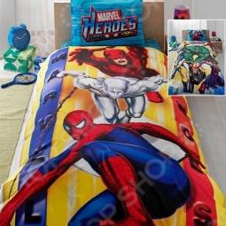 фото Комплект постельного белья TAC Marvel Heroes 2012, Детские комплекты постельного белья