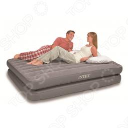 Кровать надувная Intex 2 в 1 67744