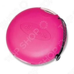 фото Кейс для хранения дисков Discgear «Дискус». Цвет: розовый, Другие аксессуары для компьютерной техники