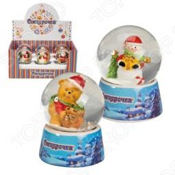 фото Шар-колба Снегурочка С Эксклюзивным Дизайном, Другие элементы интерьера