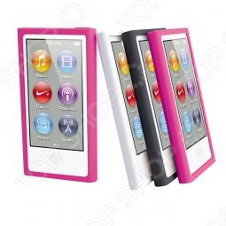 фото Чехол и пленка на экран Muvit Rubber Для Ipod Nano 7G, Защитные чехлы для плееров