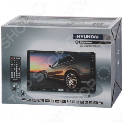 автомобильная магнитола hyundai h-cmd2009g