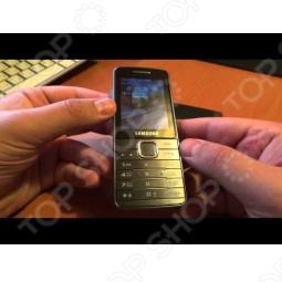 фото Мобильный телефон Samsung S5610 Gold, Мобильные телефоны