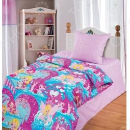 фото Комплект постельного белья Непоседа Феи На Резинке, Детские комплекты постельного белья