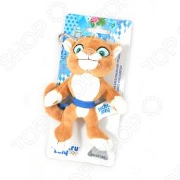 """Игрушка-брелок Леопард """"Sochi 2014"""" 12 см"""