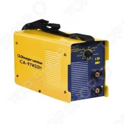 Легкий и компактный сварочный аппарат Энергомаш СА-97И22Н предназначен для качественной ММА сварки постоянным током.