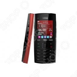 фото Мобильный телефон Nokia X 2-02 Bright Red, Мобильные телефоны с 2-я sim-картами