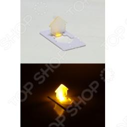 фото Свеча светодиодная карманная Drivemotion «Домик», Светильники светодиодные