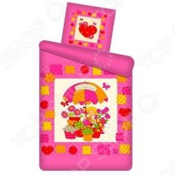 фото Комплект постельного белья Непоседа Цветочный Магазин, Детские комплекты постельного белья