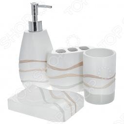 фото Набор аксессуаров для ванной комнаты TAC Siena, Аксессуары для ванной комнаты