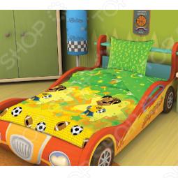 фото Комплект постельного белья Непоседа Дружок, Детские комплекты постельного белья