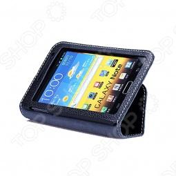 фото Чехол кожаный для Samsung Galaxy Note i9220 Yoobao Executive. Цвет: черный, Защитные чехлы для планшетов Galaxy