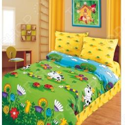фото Комплект постельного белья Непоседа Волшебный Луг, Детские комплекты постельного белья