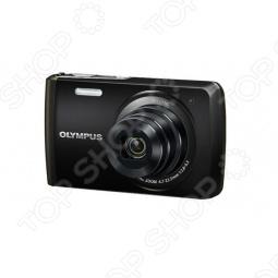 фото Фотоаппарат с кожаным чехлом Olympus Vh-410, Компактные фотоаппараты