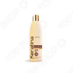 фото Шампунь укрепляющий с кератином для всех типов волос Kativa. Объем: 250 мл, Шампуни