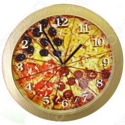фото Античасы «Пицца», Часы настенные