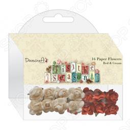 фото Набор цветочков бумажных Trimcraft Dcxfw03, купить, цена
