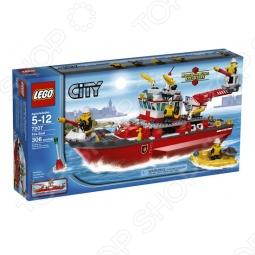 фото Конструктор Lego Пожарный Катер, Серия City