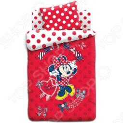 фото Комплект постельного белья Непоседа Мисс Минни, Детские комплекты постельного белья