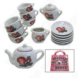 фото Набор посуды для детей Маруся Рыжий Пушистик, Посуда для детей