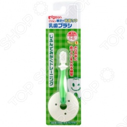 фото Щетка зубная для младенцев с фиксатором Pigeon, Уход за зубами