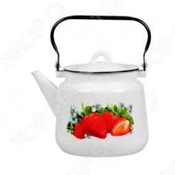 фото Чайник металлический Стальэмаль 2с, Чайники со свистком
