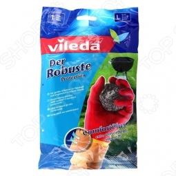 фото Перчатки особо прочные Vileda. Размер: L, Перчатки хозяйственные