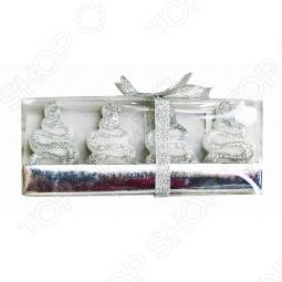 фото Набор свечей Снегурочка «Ёлки-Змеи», Свечи. Подсвечники