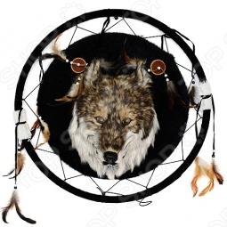 фото Сувенир из меха «Волк ловец снов», Чучела животных. Сувениры из меха