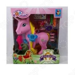фото Единорог с аксессуарами 1 Toy Т56374, Игровые наборы для девочек