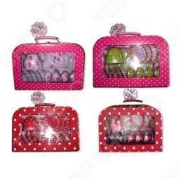 фото Чайный сервиз в чемоданчике 1 Toy Т54605, Игровые наборы для девочек