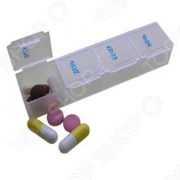 фото Таблетница на 1 день Pillbox, Полезные мелочи для красоты и здоровья