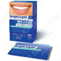 фото Полоски отбеливающие Bright Light 3D White, Отбеливающие средства для зубов