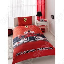 фото Комплект постельного белья TAC Ferrari 2012, купить, цена