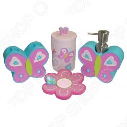 фото Набор аксессуаров для ванной комнаты TAC Butterfly, Аксессуары для ванной комнаты