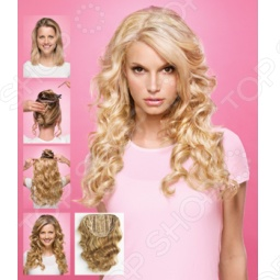 фото Пряди накладные для волос HairDo. Размер: 55 см (прямые волосы). Вид: насыщенная медь (Dark Copper), купить, цена